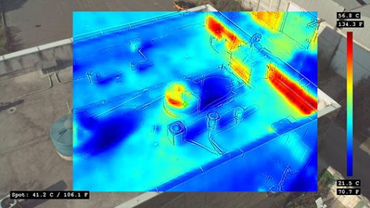 estudios eficiencia energética dron anafi thermal atyges