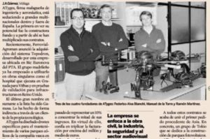 Articulo sobre ATyges en el Diario Expansión