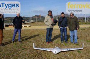 Ferrovial prueba el ala fija FV1 Topodron con éxito