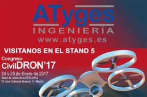 ATyges patrocina la tercera edición del Congreso CIVILDRON