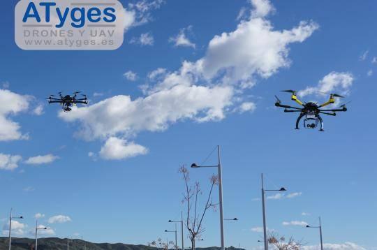 ATyges vende sus drones en el mercado japones.