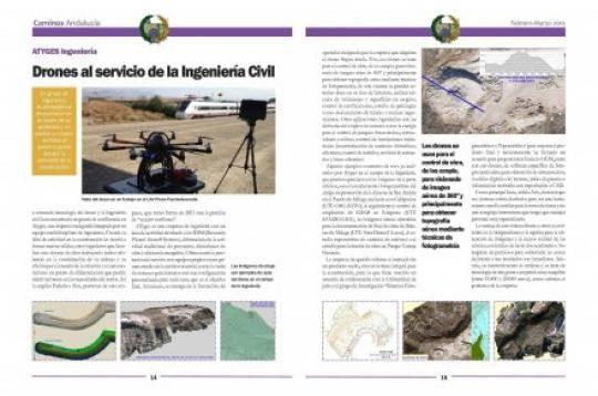 ATyges en Revista Colegio Ingenieros Caminos Andalucía