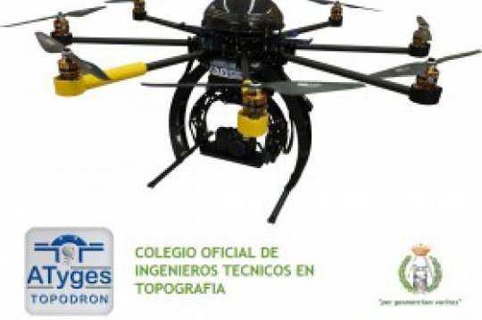 Jornada de fotogrametría con drones para topógrafos